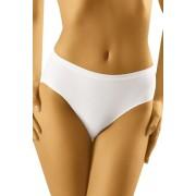 Chilot de damă cu talie înaltă Comforta alb XL