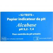 Papier pH Alcabase 52 tests