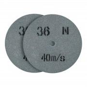Disco de lixa - grão 36 - 200 x 20 mm - 2 pçs.