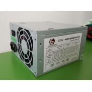 Napajanje 500W 8cm ventilator 20+4pin 4pin 12V 2xSATA 2xIDE 4-pin bez kutije (GMB-500)