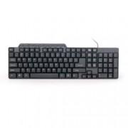 Клавиатура Gembird KB-UM-104, черна, кирилизирана, USB