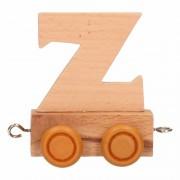 Geen Houten trein met de letter Z