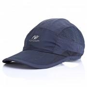 Unisex al aire libre Protector solar general Sombrero de secado rapido del sol - marina de guerra