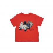 Tricou pentru baieti cu imprimeu, Mayoral (culoare rosu/corai)
