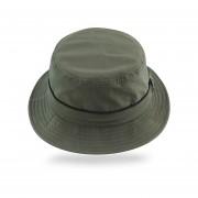 JAMONT de secado rápido de verano tapa cubos de los dede protección solar de playa Gorras de pesca al aire libre tapas Sombrero LANG(#Army Verde)