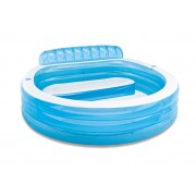 INTEX 57190 bazén se sedačkou 224x216x76 cm