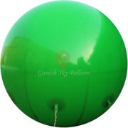 Ganesh Sky Balloon 10 x 10 feet Green Big Advertising PVC Sky Balloon