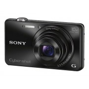 Sony Cyber-shot DSC-WX220 - Digitale camera - compact - 18.2 MP - 10x optische zoom - Wi-Fi, NFC - zwart