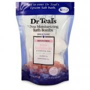 Dr Teal's Ultra Moisture Bath Bomb Pink Himalayan Jojoba Sunflower Oil 5x 1.6oz/47.32mL Men's Fragrances 550631