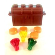 Lego Treasure Chest & Gold + Rubies