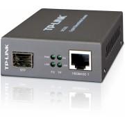 Media Convertor RJ-45 1000Mbps la slot SFP 1000Mbps, suport module miniGBIC, TP-LINK MC220L