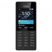 TELEFONO MOVIL NOKIA 150 NEGRO - DISPLAY 2.4'/6CM - CAMARA VGA - DUAL SIM - SLOT MICROSD (HASTA 32GB) - RADIO FM - BIBANDA - BATERIA 1020mAh