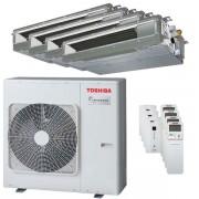 Toshiba Condizionatore Toshiba Canalizzabile U2 Quadri Split 9000+9000+12000+12000 Btu Inverter A+ Unità Esterna 8,0 Kw (RAS-4M27U2AVG-E-RAS-M10U2DVG-E-4-E3CB97)