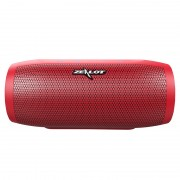 ZEALOT S16 Portable Bluetooth Speaker Wireless Subwoofer with Mic Support TF Card - Red