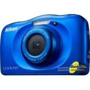 Digitalni foto-aparat Nikon W100 plavi set sa rancem