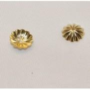 Floricele 10mm Placate cu Aur 18 Kt
