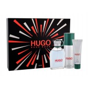 Hugo Boss Hugo Man 125Ml Edt 125 Ml + Deodorant 150 Ml + Shower Gel 50 Ml Per Uomo (Eau De Toilette)