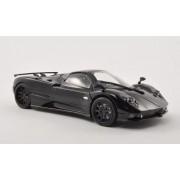 Pagani Zonda F, Black/Carbon, Model Car, Ready Made, Motormax 1:24