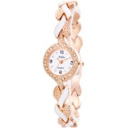 Addic An-Elegant-Persona Rose Gold White Girls Women's Watch