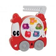 Simba Abc - Carry Along Fire Engine, Multi Color