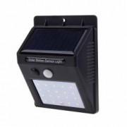 Lampa LED cu Senzor de Lumina Miscare si Incarcare Solara