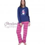 Pyžamo FORDVILLE LN000816 - modrá