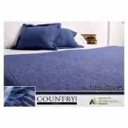 Cubre Cama / Manta Country - Cubresillon Rustico King 2x2