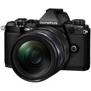 Aparat Foto Mirrorless Olympus E-M5II 1240 Kit, 16 MP, Filmare Full HD (Negru)