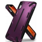 Protectie Spate Ringke Dual X 8809628562615 pentru iPhone Xr (Violet)
