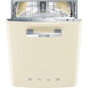 SMEG ST2FABCR2 kezelőszervig beépíthető retro mosogatógép - bézs