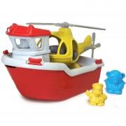 Green Toys - Mentőhajó helikopterrel