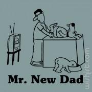 T-shirt Mr. New Dad