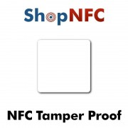 Tamper Proof NFC Stickers NTAG213 52x52mm