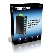 Trendnet TI-PG541 5-port Hardened Industrial Gigabit PoE+ Switch