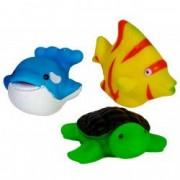 Set 3 figurine baie bebe delfin peste testoasa
