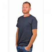 Alan Red T-Shirt Derby Blue