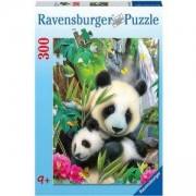 Пъзел 300 части - Семейство панди - Ravensburger, 700904