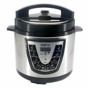 Мултикукър под налягане 7в1 ZEPHYR ZP 1985 D6, 1000W, Slow cooker, 6 литра, Таймер, Отложен старт, Регул. на налягането - Код G8010