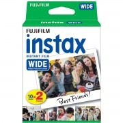 5 Packs Twin Fujifilm instax Wide film Papier Photo (100 feuilles)