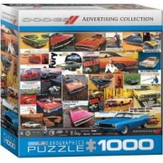 Puzzle 1000 piese Dodge Advertising Collection