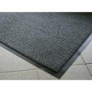 Schmutzfangmatte für innen, Flor aus Polypropylen LxB 1800 x 1200 mm schwarz / metallic