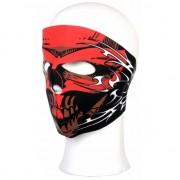 Geen Stoffen masker rood schedel