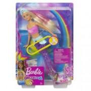 Papusa Barbie Dreamtopia Sirena cu lumini 2019