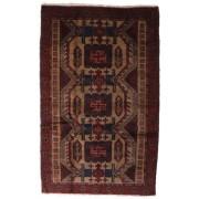 Handgeknüpft. Ursprung: Afghanistan Belutsch Teppich 111x184 Orientteppich