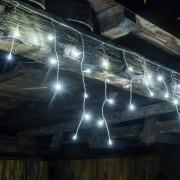 decoLED LED sople - 2x0,5 m, 40 zimnych białych diod