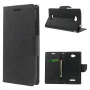 Mercury HTC Desire 616 Wallet Stand Case Hoesje Zwart