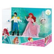 Set figurine - Ariel si Eric cu medalion