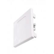 3-Phasen Schienen Endkappe quadratisch in weiß aus Kunststoff 555591