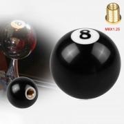 Zwart 8 Ball Shift knop voor automatische versnelling Shifer Adapter grootte: M8 x 1.25