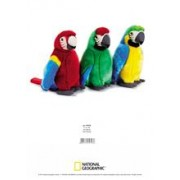 Jucarie Plus Venturelli - National Geographic Papagal Ara Macao 26 Cm - Av770793